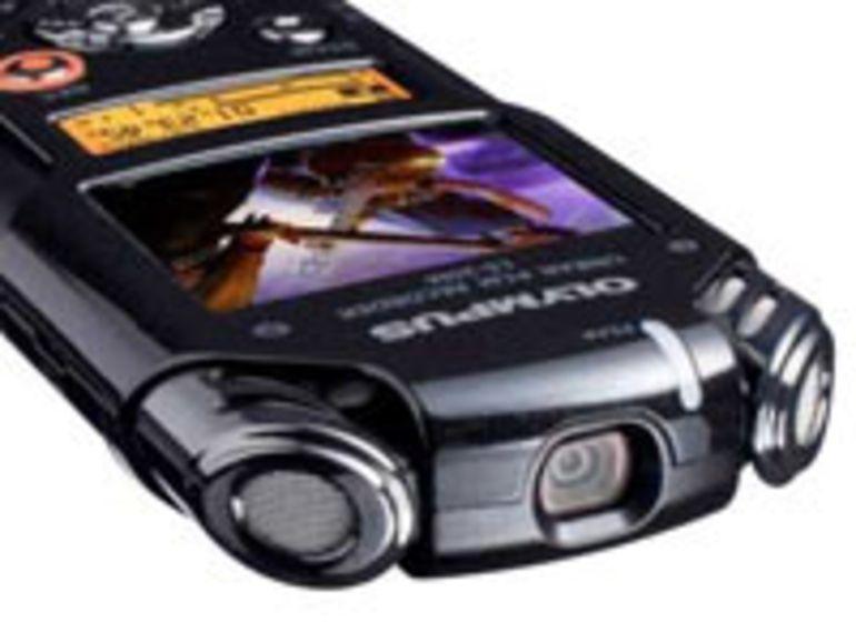 Olympus LS-20 : les enregistreurs de poche audio se dotent d'une caméra