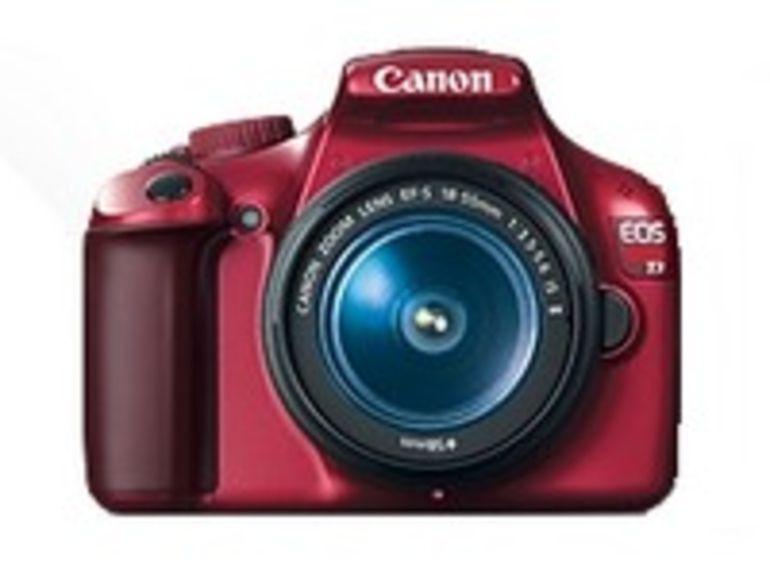 Le Canon EOS 1100D change de style, et adopte la couleur