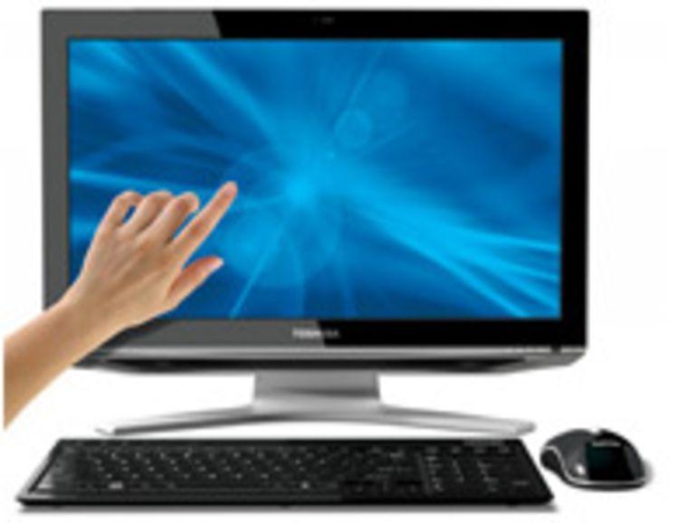 Toshiba présente le DX1215, son premier PC tout-en-un