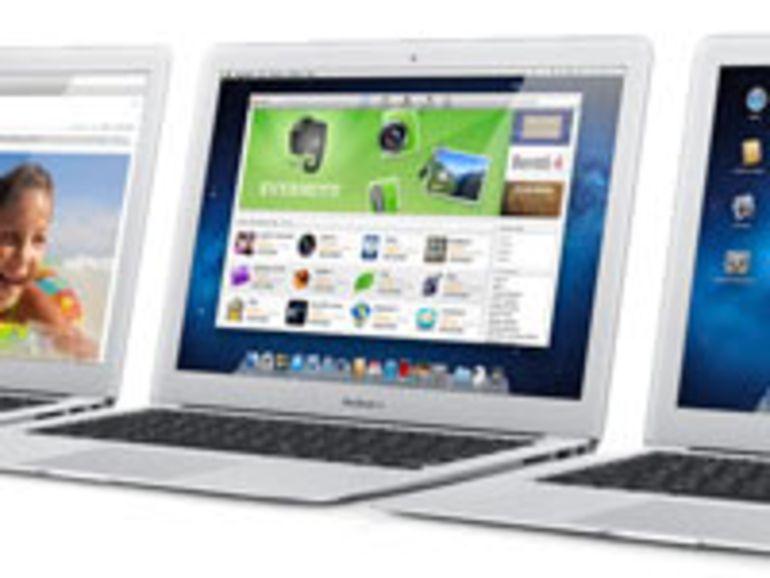 Les MacBook Air ne sont pas tous égaux devant leur disque