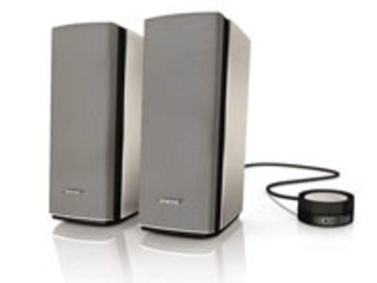 Bose  lance le système multimédia Companion 20
