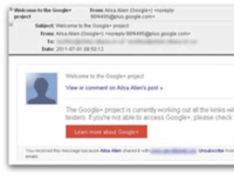 Google+ déjà la cible des spammeurs