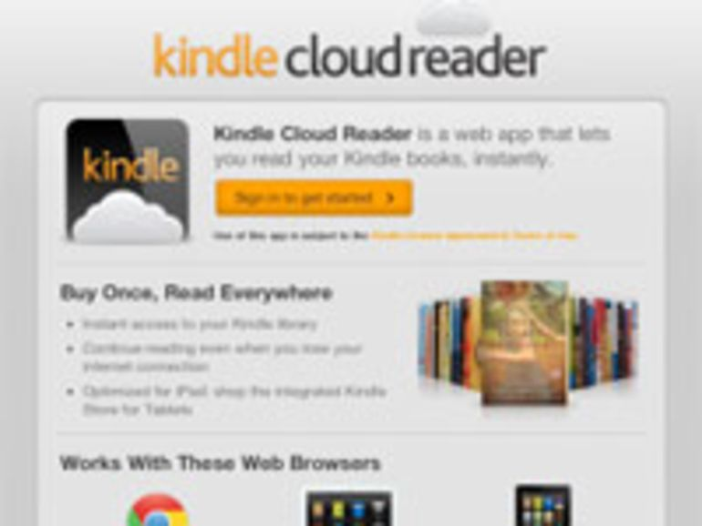 Amazon décline son Kindle en version Cloud
