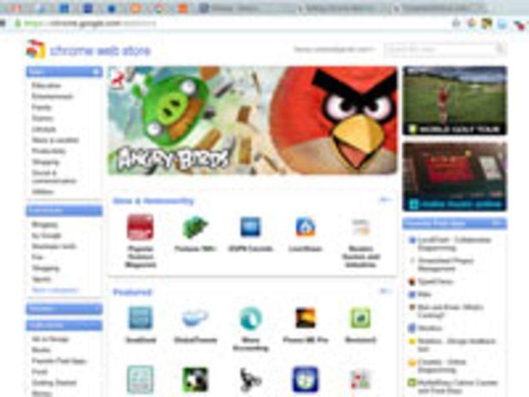 Le Chrome Web Store disponible en français