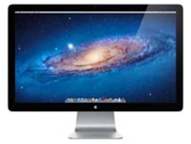 Une dalle LG derrière l'écran Thunderbolt d'Apple