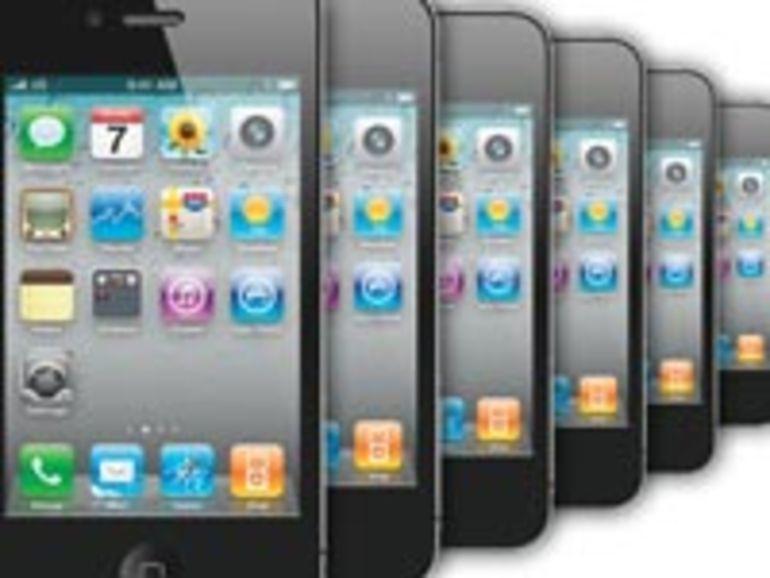 L'iPhone, numéro 1 des ventes de smartphones en 2011