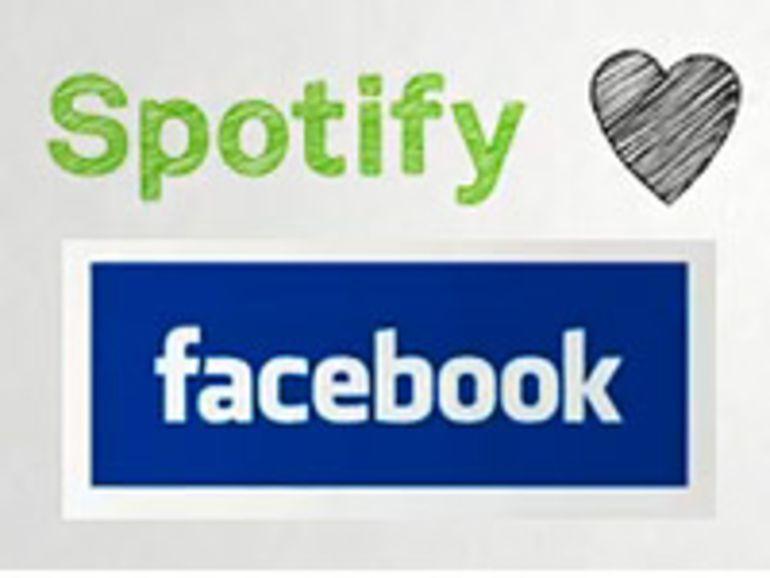 Facebook : Spotify s'est fait un nouvel ami