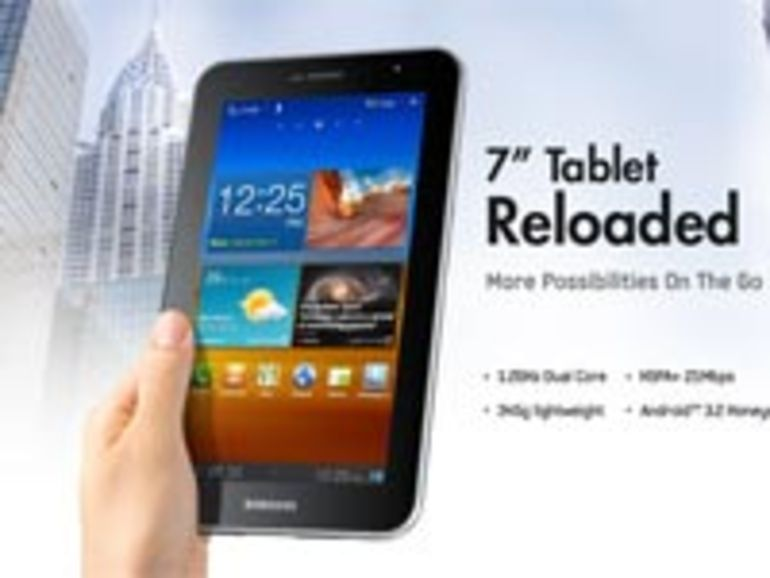 Samsung dégaine la Galaxy Tab 7.0 plus