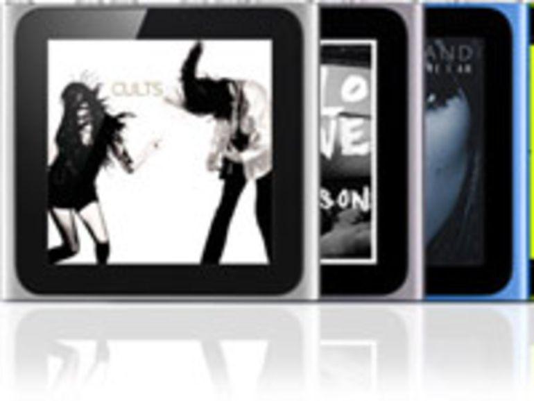 Apple renouvelle les iPod nano et iPod Touch