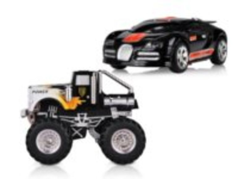 Démo de Dexim DF Speed Race Car et Monster Truck
