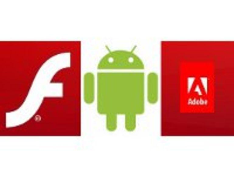 Flash disponible sur Android 4.0