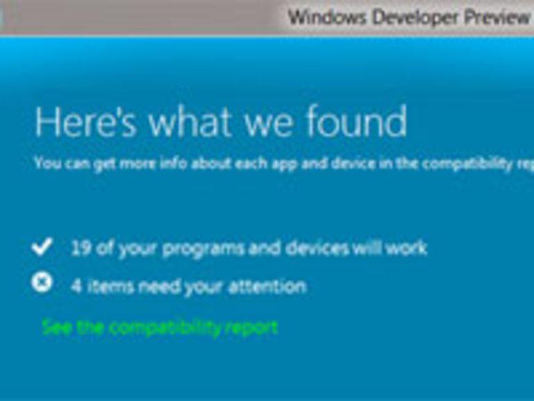 Windows 8 : mise à jour en 11 clics