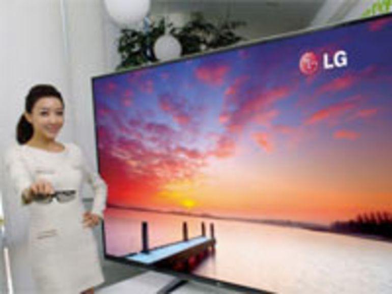 """CES 2012 : TV 3D géante de 84"""" 4K pour LG"""