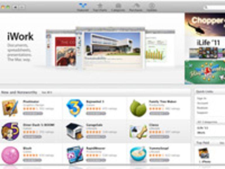 100 millions de téléchargements pour le Mac App Store
