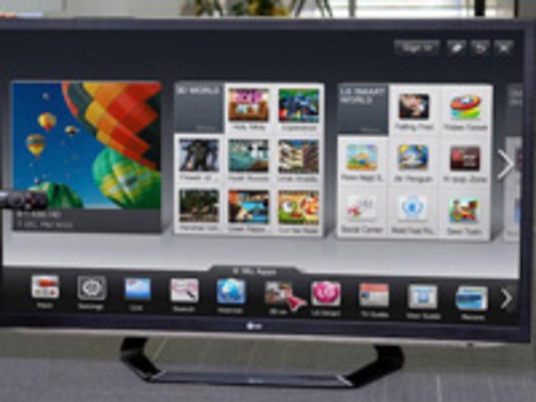 Nouvelle gamme Smart TV LG au CES 2012