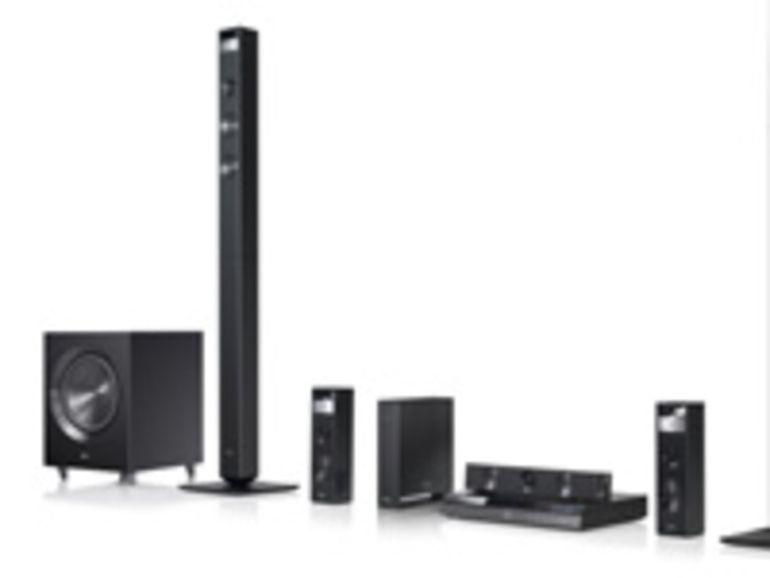 CES 2012 : du Blu-Ray et des home cinema chez LG