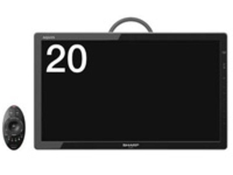 CES 2012 : Sharp présente des TV Aquos Freestyle sans fil