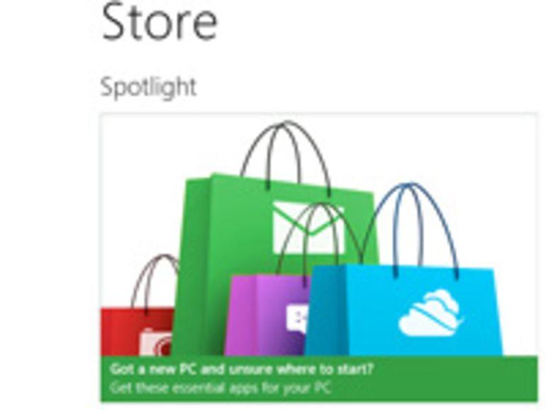 Microsoft livre les détails de son Windows Store