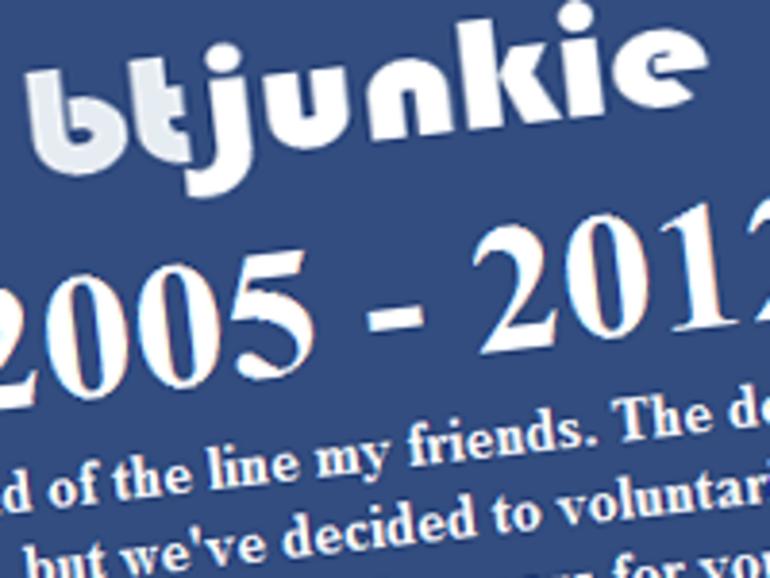 """Fermeture de BTjunkie : """"la guerre est loin d'être terminée"""""""
