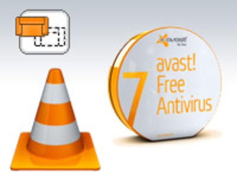 Avast 7, VLC 2.0, Room Arranger 6... vos mises à jour hebdo