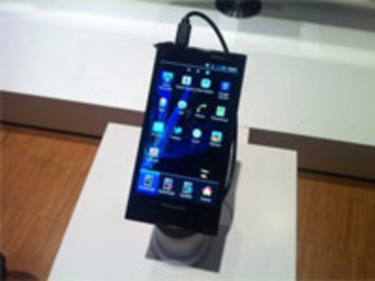 Panasonic dévoile son smartphone Android résistant Eluga