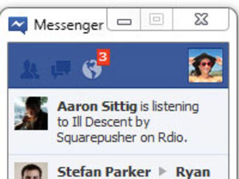 Facebook Messenger pour Windows est disponible