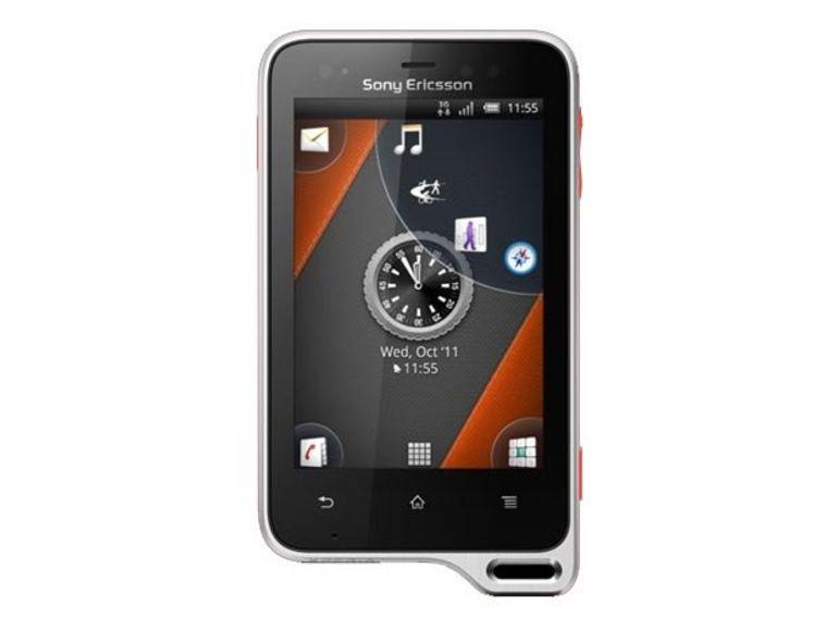 Démo du Sony Xperia active