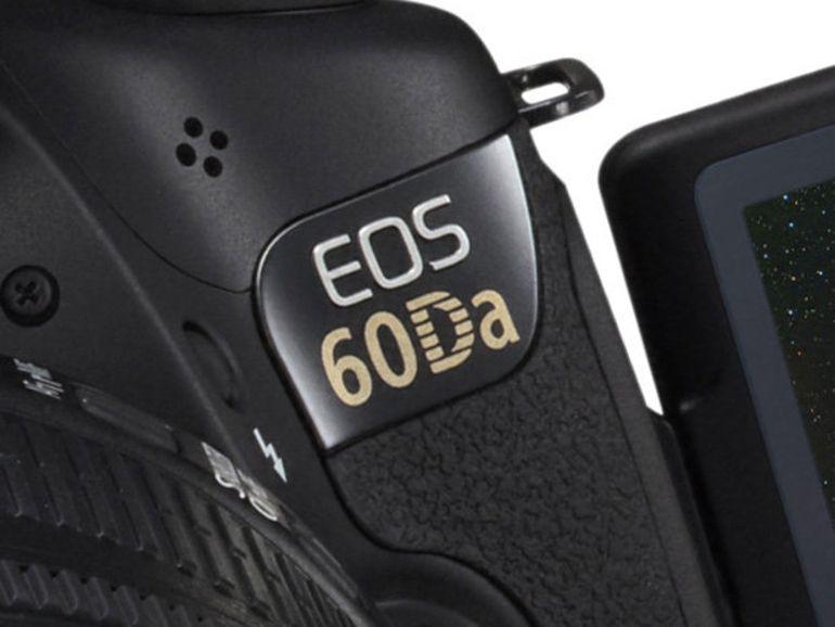 Canon EOS 60Da, une déclinaison dédiée à l'astronomie
