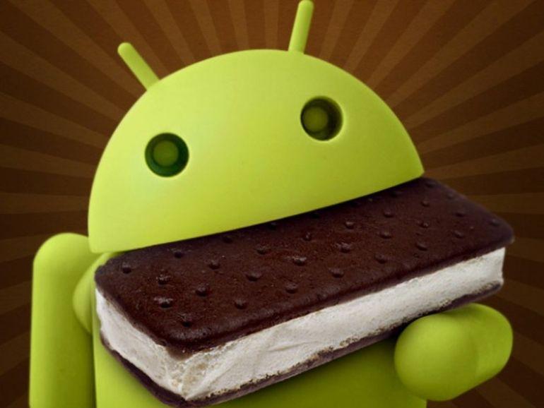 2,9% des appareils Android tournent sous ICS