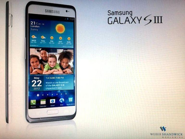Le Galaxy S3 doté d'un écran 4,6 pouces 1280 x 720 ?