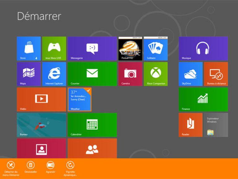 Windows 8 aura trois versions