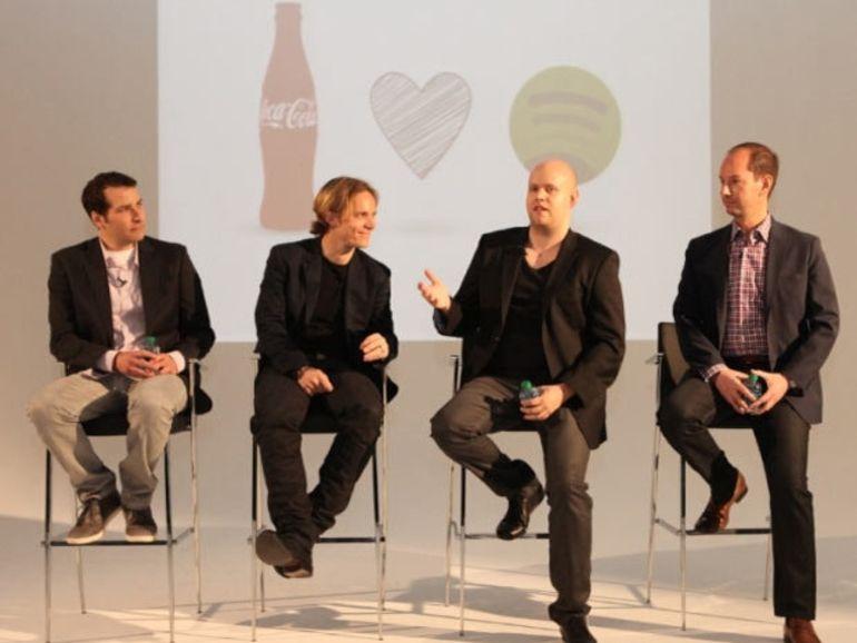 Spotify signe avec Coca-Cola et McDonald's