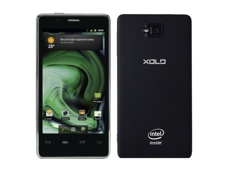 "Xolo X900 : le premier smartphone ""Intel Inside"""