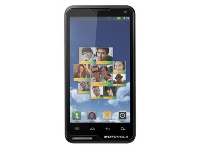 Démo du Motorola Motoluxe