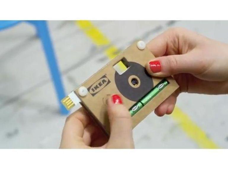 Ikea récidive avec un appareil photo numérique en carton !
