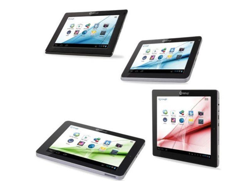 SlidePad NG : Memup dévoile quatre tablettes Android