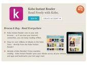 Kobo : une version Cloud pour lire en ligne