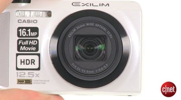 Démo du Casio Exilim EX-ZR200