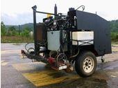 Un robot pour imprimer des tweets sur le bitume