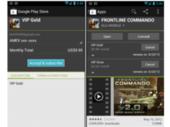 Android propose des abonnements in-app