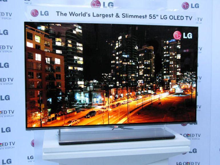 Une TV OLED 4K pour LG en 2013 ?