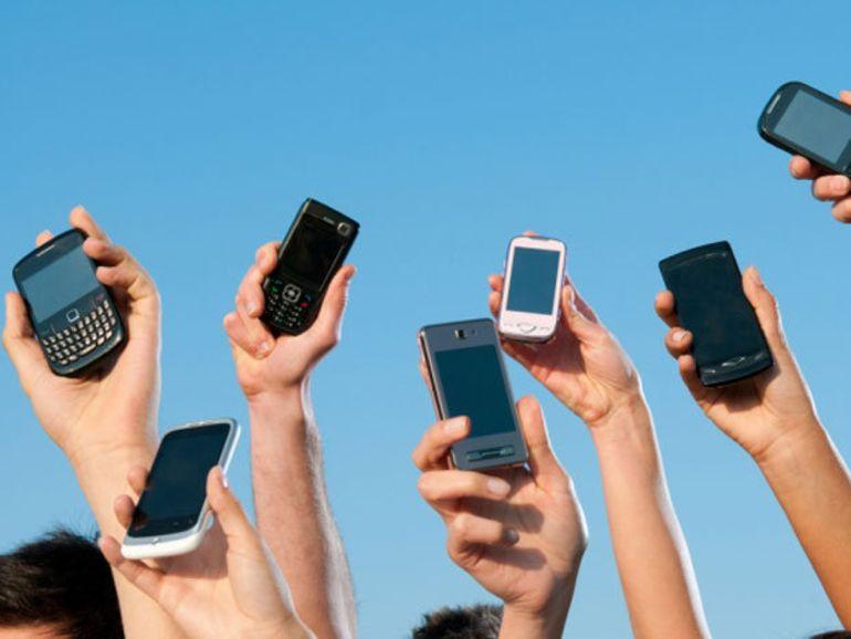 Les ventes de mobiles en hausse grâce aux smartphones