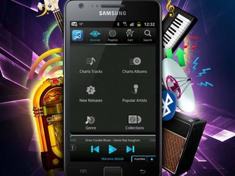 Samsung lance son service Music Hub pour le Galaxy S3