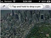 De la cartographie en 3D dans iOS 6.0 ?