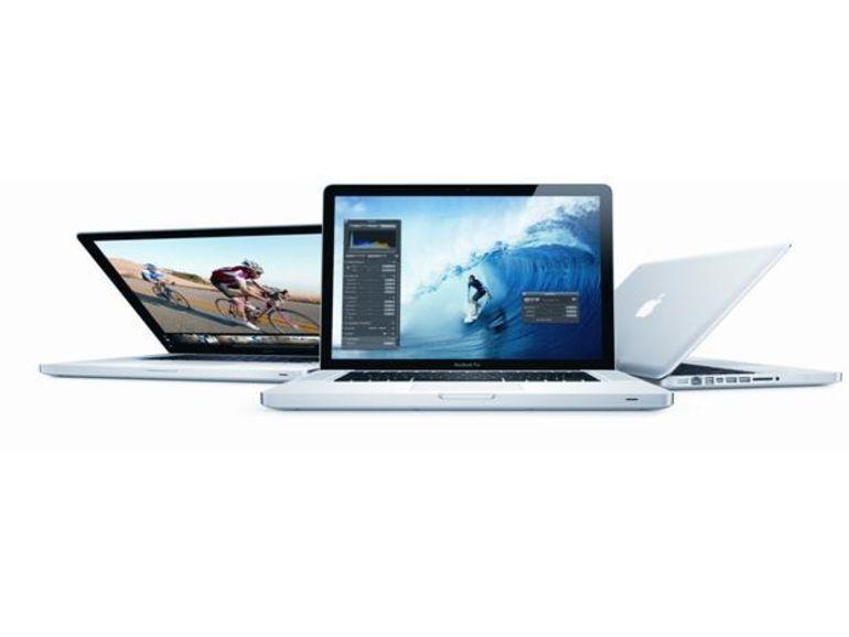 Apple met à jour les nouveaux Macbook