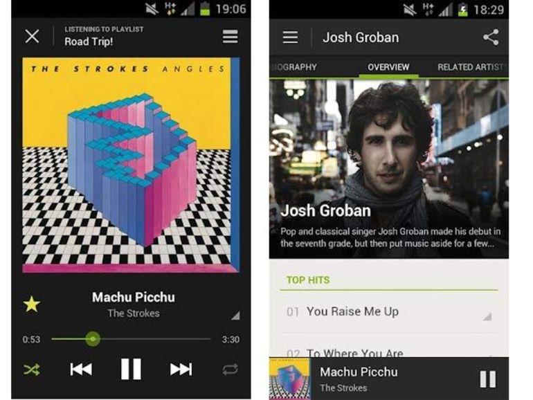 Une nouvelle version de Spotify pour Android