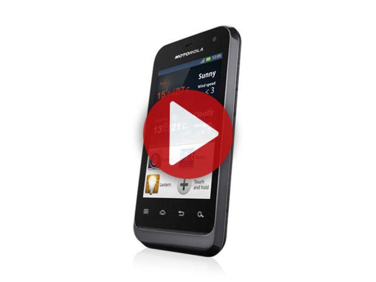 Démo du Motorola Defy Mini