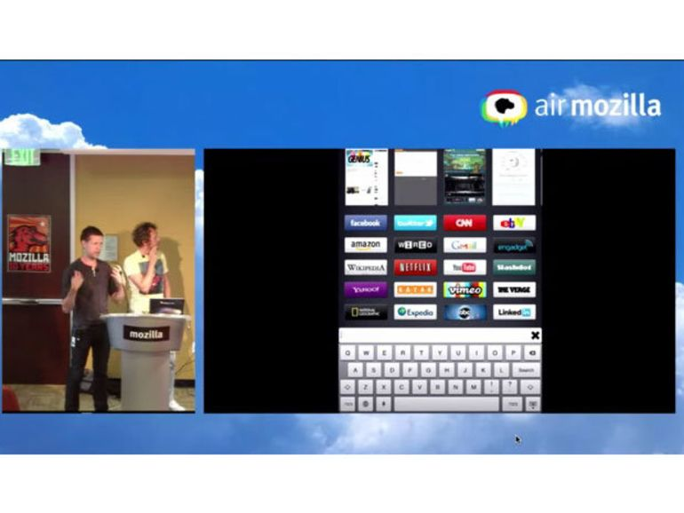 Junior : Mozilla développe un navigateur pour l'iPad