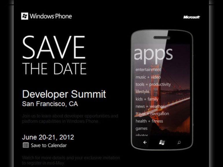 Windows Phone 8 présenté aujourd'hui