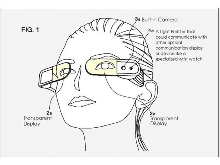 Après Google, Sony présente son concept de lunettes connectées